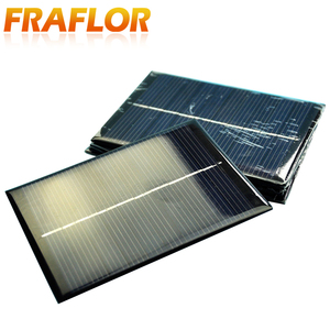 Image 2 - 10ชิ้น/ล็อตขายส่งDIY 1W 5V 200mA Solar Panel Chargerพลังงานแสงอาทิตย์โมดูลชาร์จสำหรับ3.6Vแบตเตอรี่หรือLi Ion Battry 110*80มม.