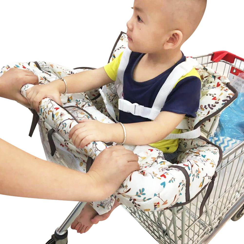 Portable child Shopping Cart seat cushion increased pad Infant Safe Seat Thickening Sponge Kids Baby Safety Seat For boys Girls