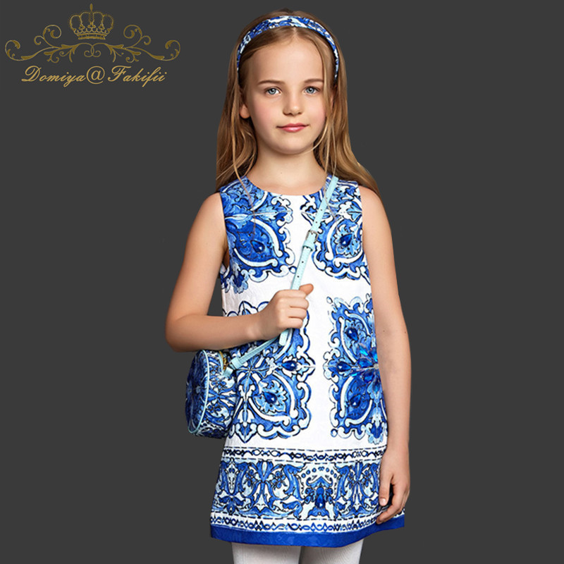 Vestidos Girls Dress 2018 Stylish Christmas Toddler Dress with Flowers and Crystal Robe Enfant Kids Dresses for Girls Clothes vestidos kids dresses for girls flower dress princess 2018 girls clothes 4 6 8 10 12 14 year robe fille enfant toddler dress