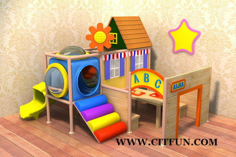 Children indoor soft play structure for cafe and shopping for Kinderzimmer play 01