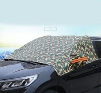 Camouflage Car Window Cover Sunshade Snow Covers Reflective Foil For All Car Windshield Prevent Frost Mist