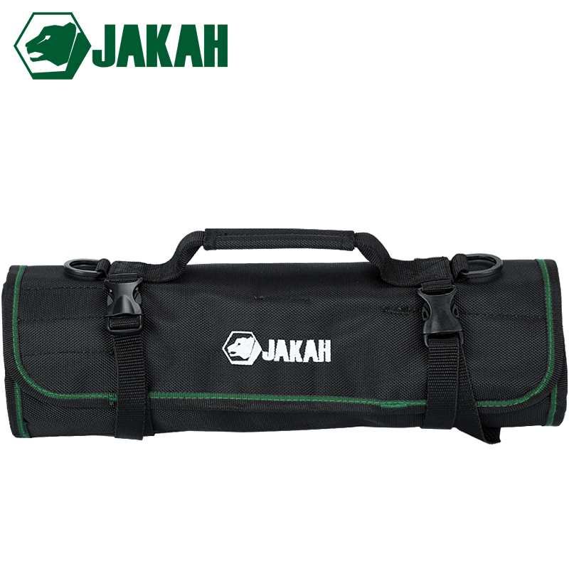 JAKAH 2018 Multifunctional Oxford Canvas Waterproof Roll Bag Rolling Repairing Tool Utility Bag Practical With Carrying Handles