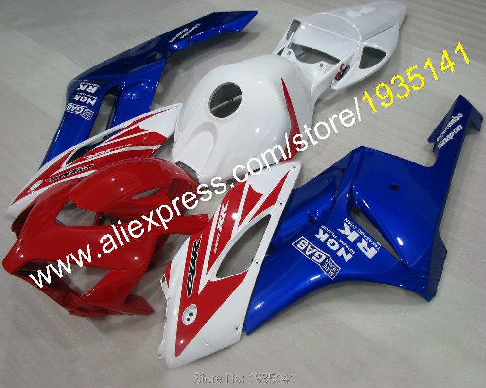 Hot Sales,Red blue white kit For Honda CBR1000RR 2004 2005 CBR 1000RR GAS RK CBR1000 04 05 sportbike Fairing (Injection molding) hot sales for honda cbr1000rr 04 05 cbr 1000 rr 1000rr cbr1000 rr 2004 2005 konica minolta abs fairing kit injection molding