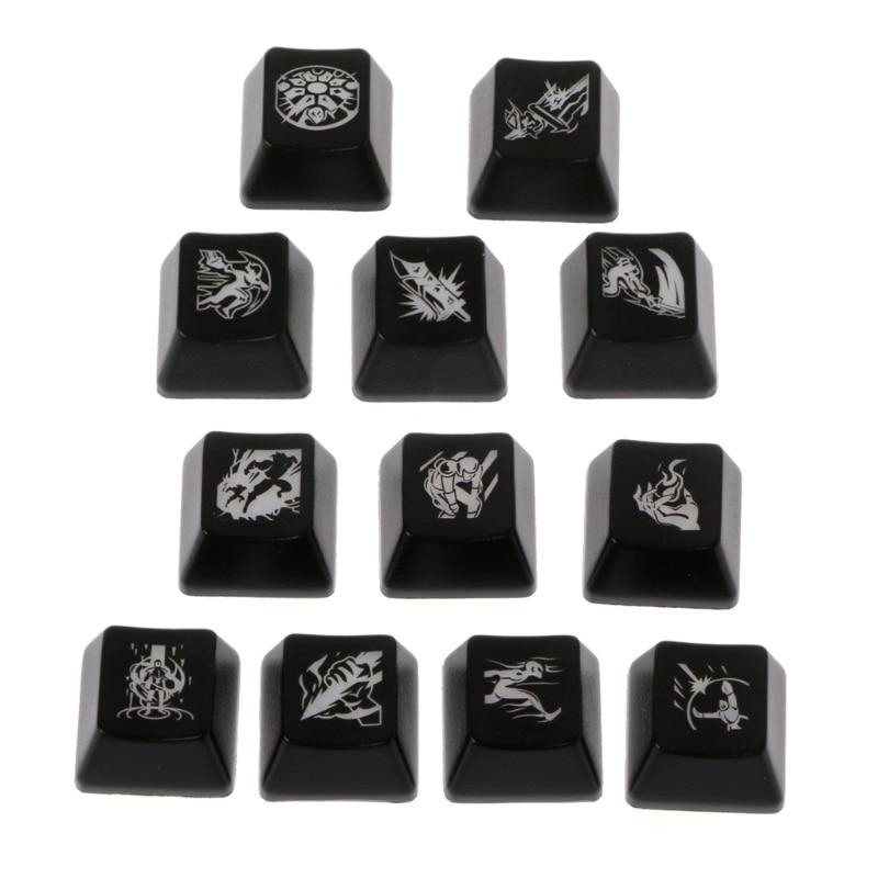 League Of Legends LOL Cherry MX OEM Backlight Keycaps Keycap Mechanical Keyboard