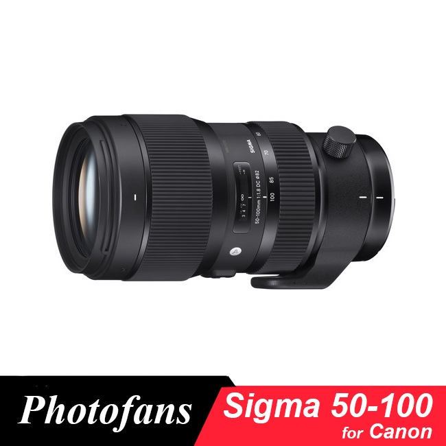 Sigma 50-100mm f/1.8 DC HSM Art Lens for Canon 650D 700D 750D 760D 60D 70D 80D 7D