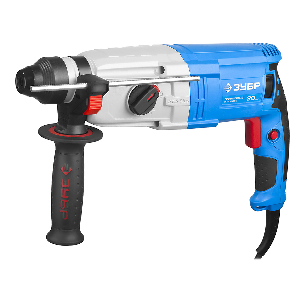 Rotary hammer ZUBR ZP-30-900 K цена