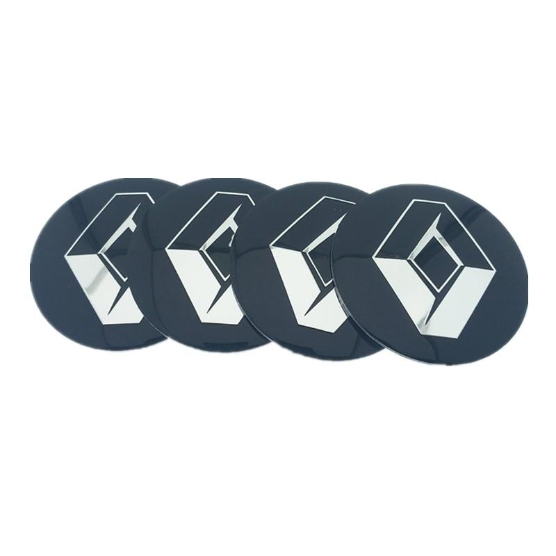 4 шт. 56,5 мм 65 мм для Renault Honda BMW Mercedes Benz Toyota для Hyundai Peugeot, автомобильная ступица колеса, эмблема, наклейка с логотипом, Стайлинг автомобиля