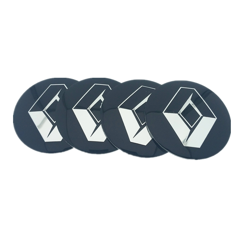 Image 3 - 4pcs 56.5mm 65mm For Renault Honda BMW Mercedes Benz Toyota HYUNDAI PEUGEOT Car Wheel Hub Core LOGO Emblem Sticker Car styling-in Car Stickers from Automobiles & Motorcycles