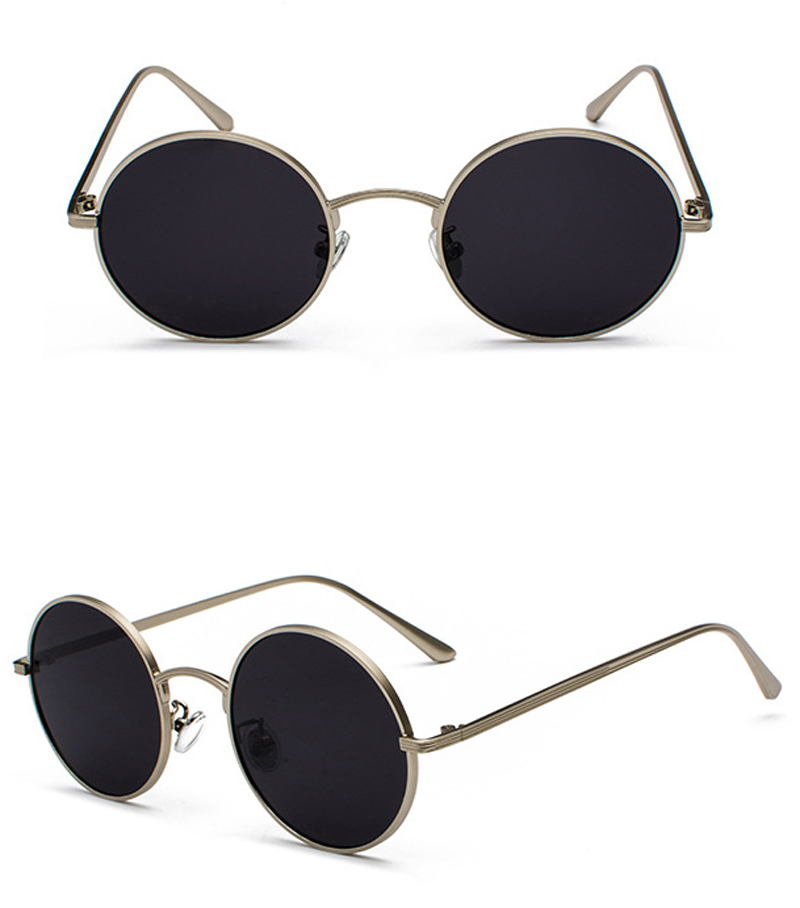women sunglasses with red lenses detail (5)