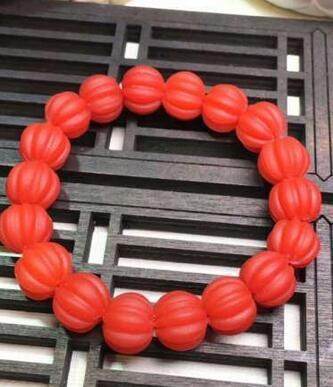 Bracelet en pierre donyx rouge du sud naturel Bracelet rouge kaki pour femmeBracelet en pierre donyx rouge du sud naturel Bracelet rouge kaki pour femme