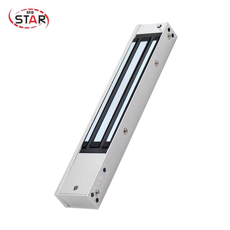 все цены на 280kg(600Lbs) glass door lock made in china holding force Signal output feedback Magnetic Door Lock онлайн