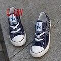 Venta caliente Dallas Cowboys Team USA Zapatos de Lona Envío de La Gota de Impresión Zapatos de Graffiti Zapatos de Lona Casuales Hombres Niños Regalo Aficionados