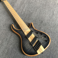 New custom 6 string electric bass, O,M ,oblique, real photos, factory wholesale, can modify the custom