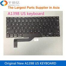 Оригинальная новая запасная часть A1398 US клавиатура для ноутбука Macbook Pro retina 15′ 2013-2014 без подсветки