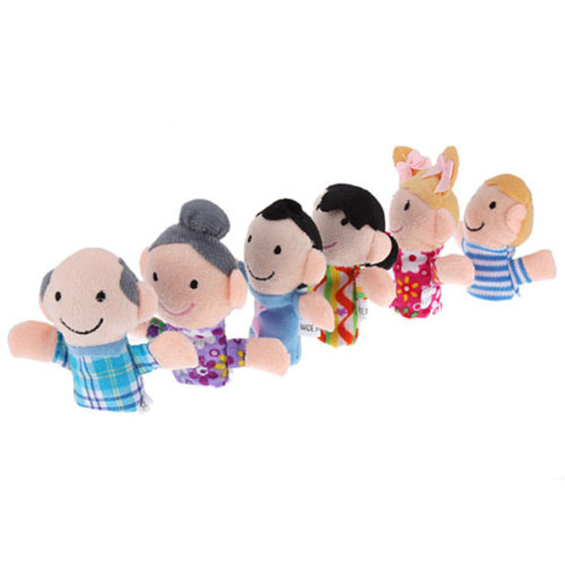 Hot-6Pcslot-Family-Finger-fantoches-de-dedo-Puppets-Cloth-Doll-Baby-Educational-Hand-Toy-Story-Kid-Free-Shipping-2