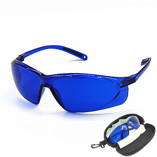 Safety Glasses For IPL OPT Operator Red Laser Hoton Color Light Safety Golf Ball Finding Glasses