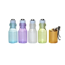 3ml Glass Roll On Bottles Mini Portable Travel Essential Oil Roller Ball With Pendant For Liquid Perfume