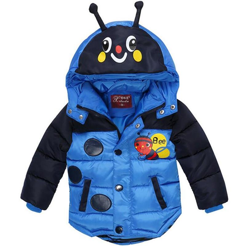 Boys Winter Coats Hot Sales Children Clothing High Quality Hooded Cotton Warm Jackets For Baby Boy Coats Outerwear Kids Clothes