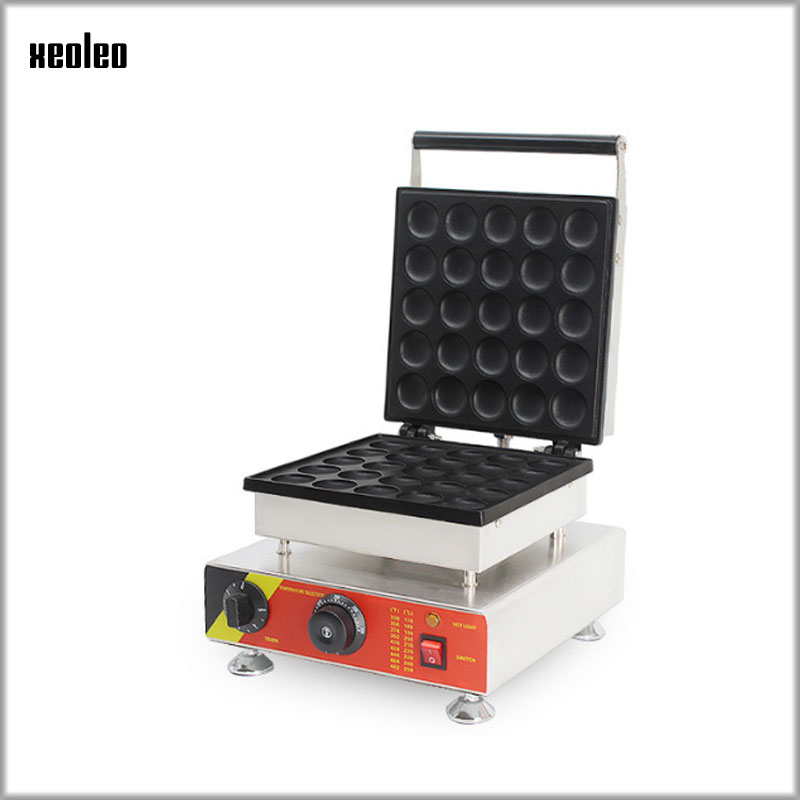 XEOLEO Electric Cookie Maker Pine cake machine Commercial Copper simmering equipment Non-stick surface Waffle makers 1500W 220VXEOLEO Electric Cookie Maker Pine cake machine Commercial Copper simmering equipment Non-stick surface Waffle makers 1500W 220V