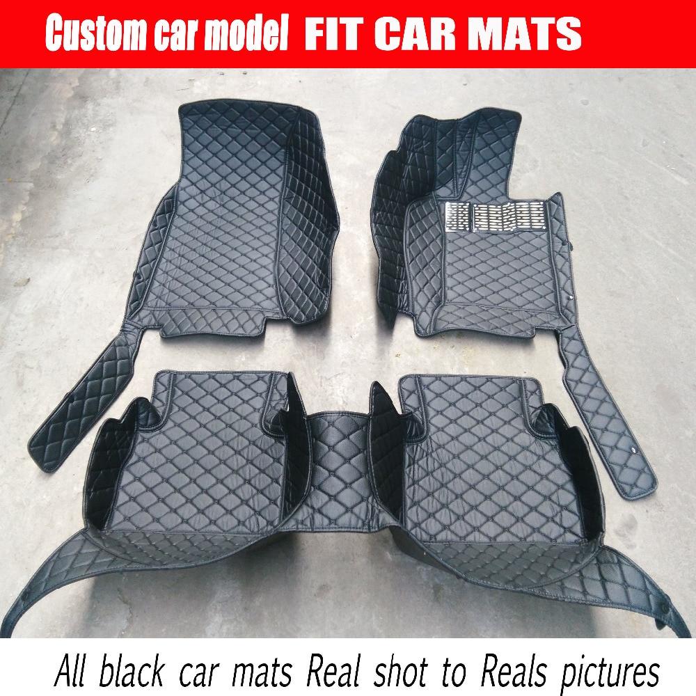 Q7 rubber floor mats - Custom Fit Right Hand Drive Car Floor Mats For Audi A1 A3 A4 A5 A6 A7
