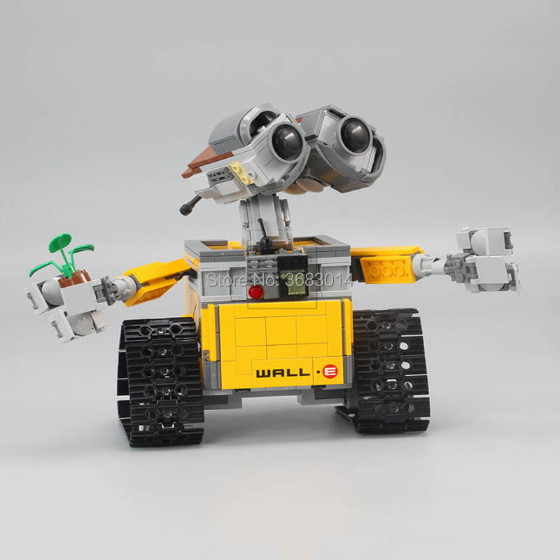 16003 Idea Robot Wall E Building Set Kits Blocks Toy 687pcs Model