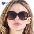 TenLon Очки Поляризованный Жемчужные Бантом Благодать Солнцезащитные Очки женские солнцезащитные очки путешествия óculos de sol очки с анти UV400