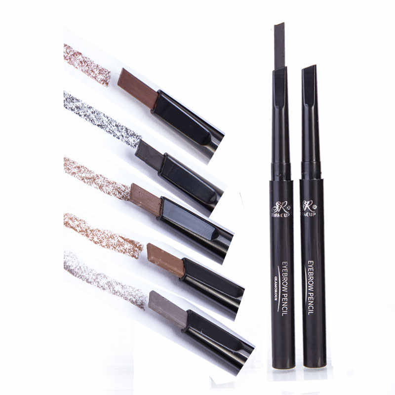 b06843ab2d5a Brand 1 Pcs automatic eyebrow pencil makeup 5 styles paint for eyebrows  brushes cosmetics brow eye