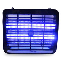 Black LED Light 220V 1W Electronic Indoor Mosquito Insect Killer Bug Fly Zapper Lamp Trap for Home living room, bedroom, kitchen