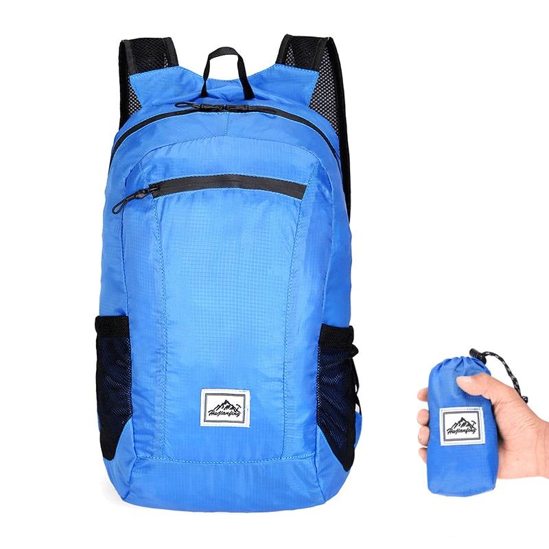 20L Ultralight Men Women Sports Travel Backpack Hiking Camping Backpack Foldable Waterproof Climbing Outdoor Rucksack