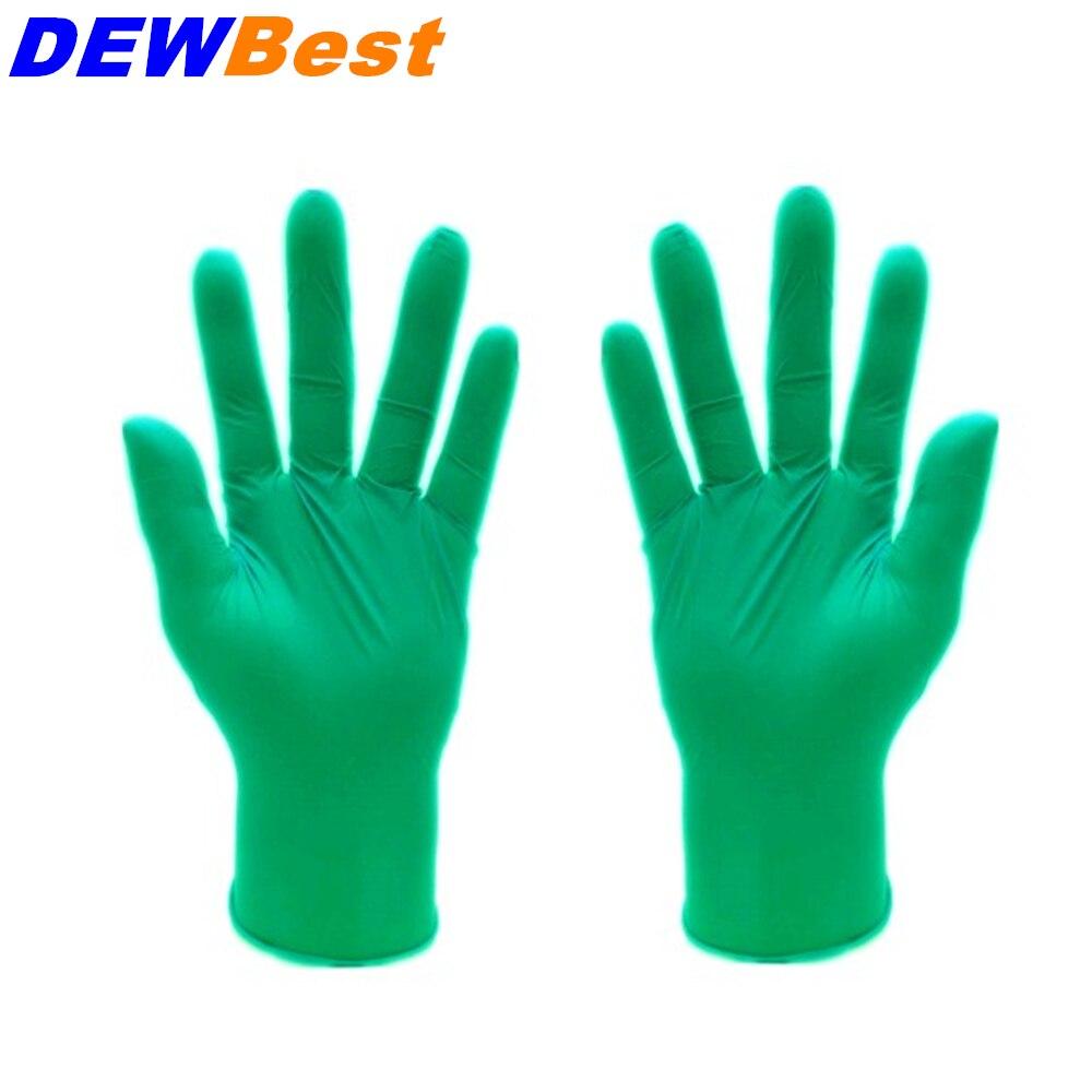 Compra guantes de nitrilo verde online al por mayor de
