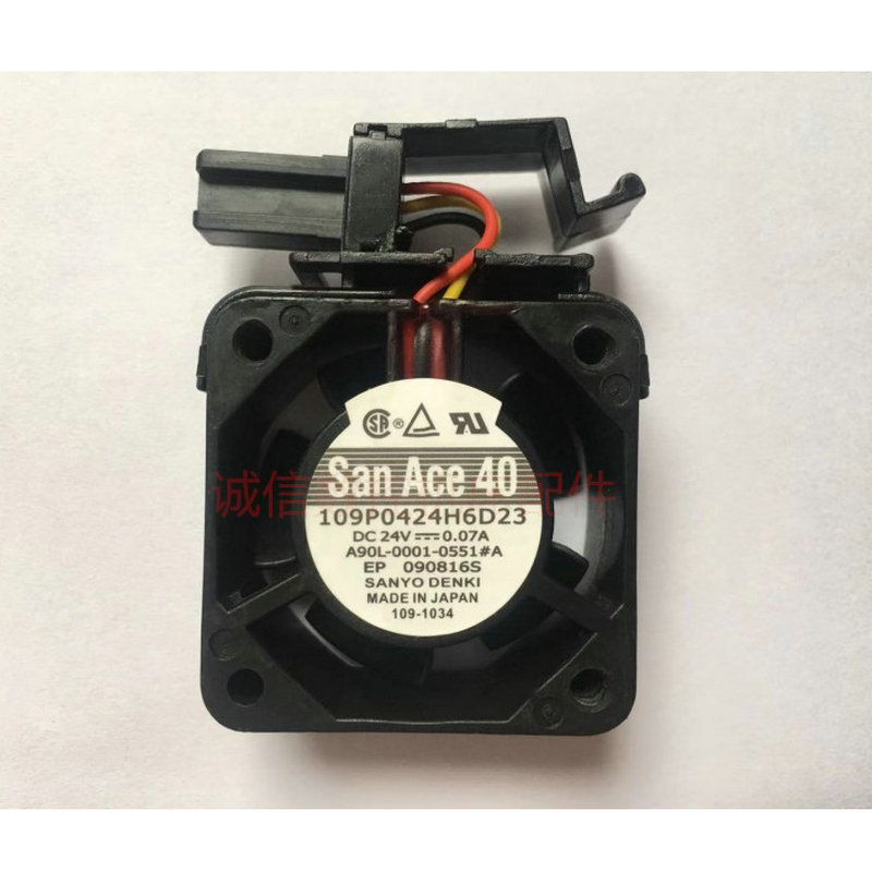 New A90L 0001 0551 A 109P0424H6D23 FANUC fan with original plug
