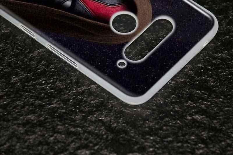 マットシリコーンケース超クールなデッドプール lg K40 Q8 Q7 Q6 V50 (5 グラム) v40 V35 V30 V20 G8 G7 G6 G5 ThinQ 電話シェル