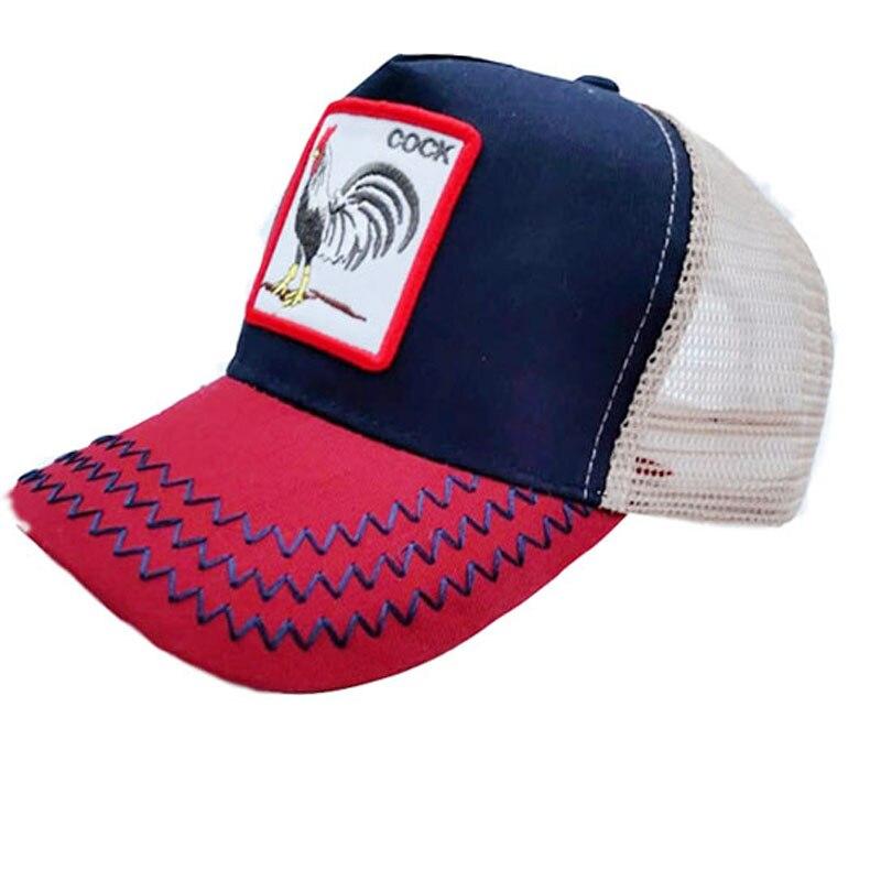 41f5e3b8b1aaba New Fashion Baseball Cap Women Men Breathable Mesh Caps Unisex Snapback Hat  Embroidery Animals Hip Hop