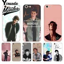 Yinuoda ruixkj cantor shawn mendes magcon transparente caixa do telefone para o iphone 8 7 6 s plus x 10 5 5S xs xr11 11pro 11promax(China)