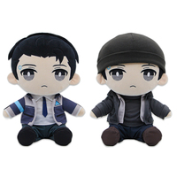 30cm Detroit Become Human Plush Toy RK800 Connor Stuffed Doll Cosplay Prop Gift
