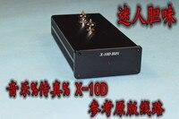 Terminou base em X-10D Musical Fidelity HIFI Tubo amplificador mini AMP versão atualizada