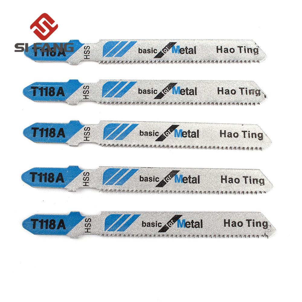 5Pcs HSS Reciprocating Saw Blades Wood Metal Cutting Jig Saw Blade Cutting Tool