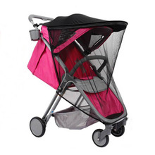 лучшая цена Baby stroller sunshade with mosquito net Universal Expand sunshade area Baby cart accessories Suitable for YOYO YOYA stroller