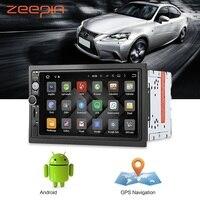 Zeepin Android6.0 Auto Multimedia-Player Bluetooth GPS Navigation Auto Radio Audio 2 Din 7 zoll Autoradio Spieler Spiegel link WiFI