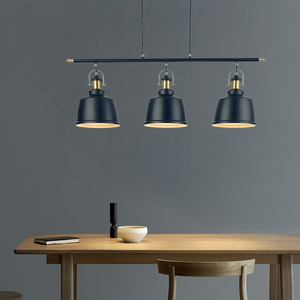 Image 5 - רטרו לופט תעשייתי ברזל תליון תאורת חדר אוכל בציר LED תליון מנורה מודרני תליון אורות/השעיה מקורה