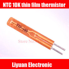 Termistor de película delgada 30 Uds NTC 10 K/sensor de temperatura ultrafino B3950K