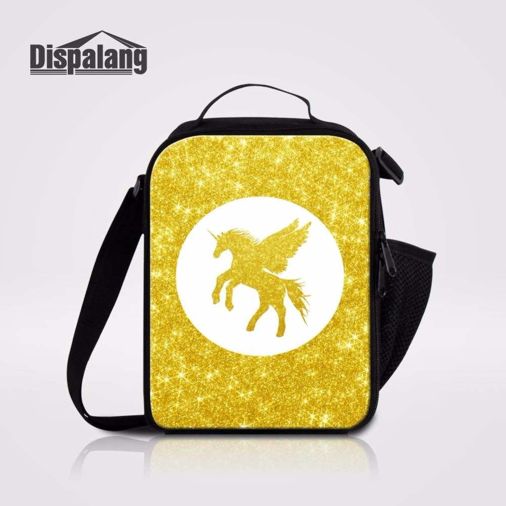 Bolsa Para Comida Almuerzo De Unicornio Para Ninos Lonchera Unicorn Lunch Bag