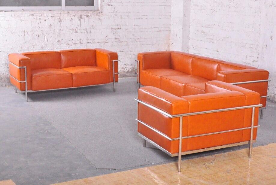 Achetez en gros classique canap fixe en ligne des - Canape le corbusier lc3 ...