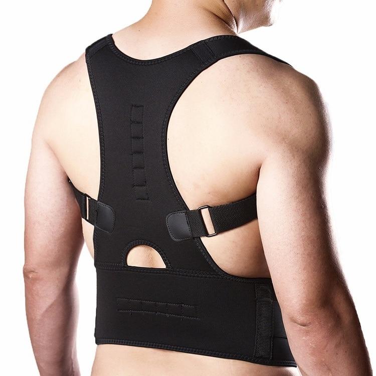 Back Brace Posture Corrector for men women, Hualedi Fully Adjustable Back Support for Men Women [ For Lower and Upper Back Pain