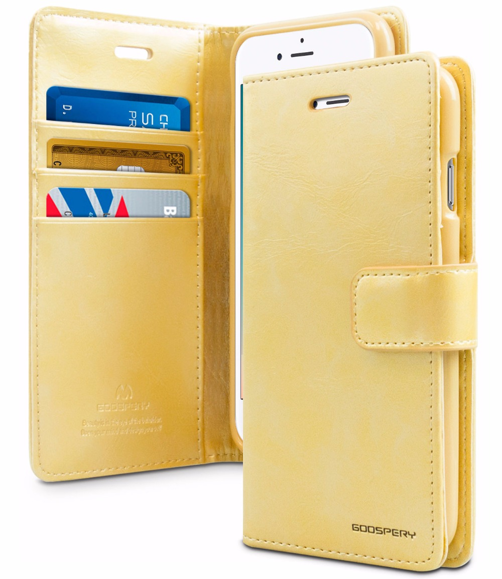 Buy Original Mercury Goospery Blue Moon Diary Pu Iphone 8 Fancy Case Yellow Hotpink Leather Magnet Flip Wallet Cover For 4 5 5s Se 6 6s 7 Plus X From Reliable