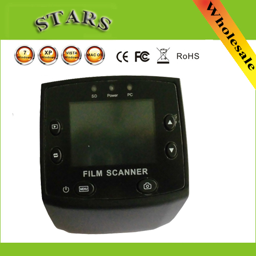 5MP 35mm USB Negative Film Slide Viewer Scanner 2.4LCD Digital Color Photo Film Converter Slide Scanner ,free shipping new 2 4 tft lcd negative photo scanner 35mm slide film scanner converter convert your film into digital jpg jpeg format