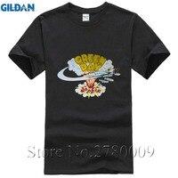 GROENE DAG DOOKIE t-shirt Mannen Vrouwen tee Korte Mouw Tshirts Aziatische Maat S ~ XXXL Goedkope Prijs 100% Katoen Tee Shirts