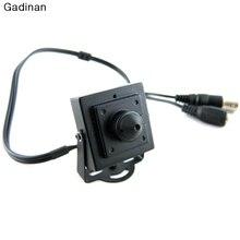 """Gadinan New Arrival Mini HD Indoor 3.7mm 700TVL 1/4"""" CMOS Surveillance Color CCTV Camera"""