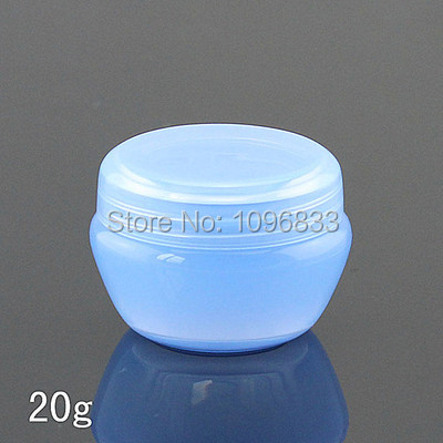 20G Plastic Cream Jar, Blue Plastic Box, Cosmetic Container, Empty Cream Box, Cosmetic Sample Bottle, Mushroom Jar, 50PCS/Lot-in Refillable Bottles from Beauty & Health on AliExpress - 11.11_Double 11_Singles' Day 1