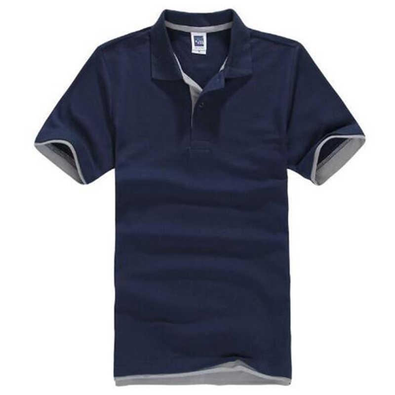 Бренд Camisa PoloShirt, Мужская Дизайнерская хлопковая рубашка, мужские футболки с коротким рукавом, спортивные футболки, футболки для тенниса размера плюс, XXXL, Blusas, топы